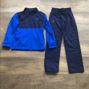 Under Armor Track Set - jacket and pants